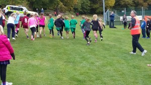 start line for U-11 girls (1)